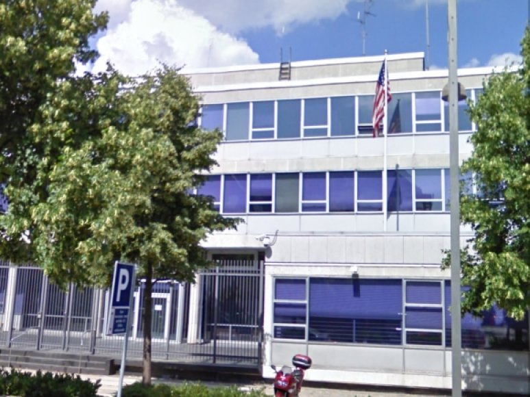 JAV ambasada Kopenhagoje