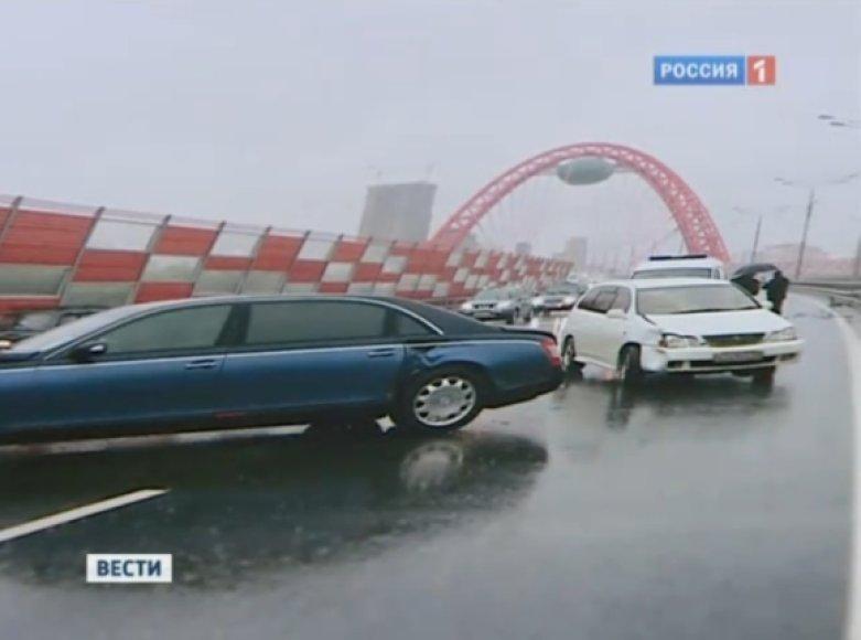 Automobiliai po avarijos