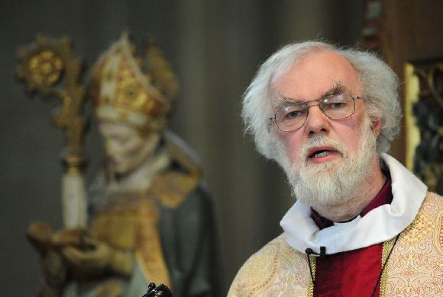 Kenterberio arkivyskupas Rowanas Williamsas