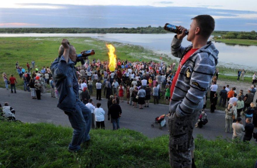 Alaus mėgėjai Baltarusijoje