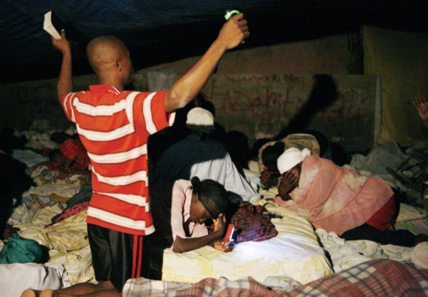 Per žemės drebėjimą pastogės neteko milijonas haitiečių.