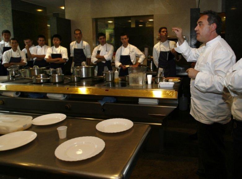 Ferranas Adria ir jo komanda