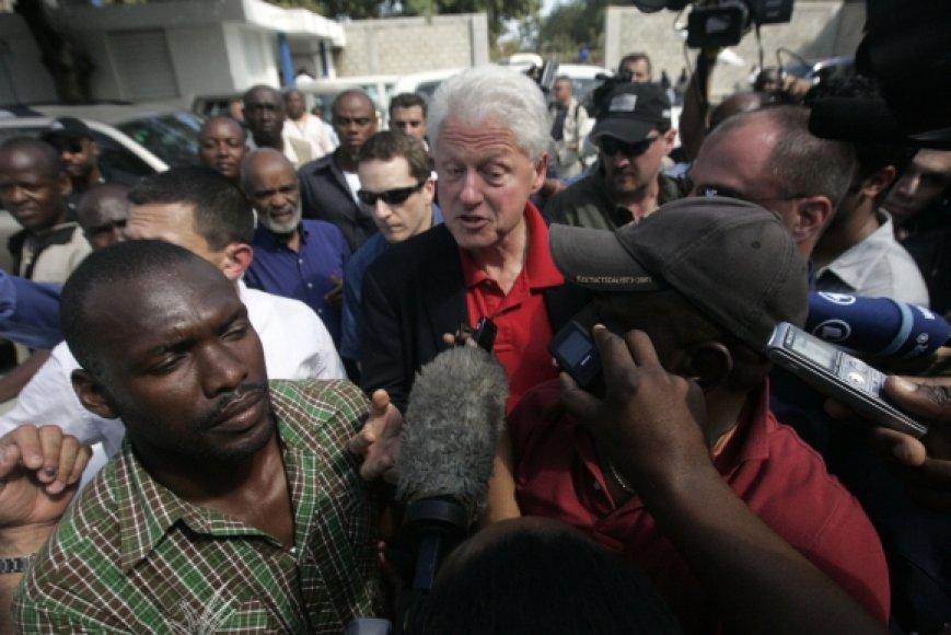 Billas Clintonas Haityje