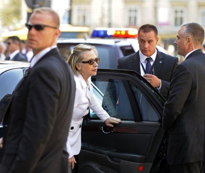 Hillary Clinton Lenkijoje
