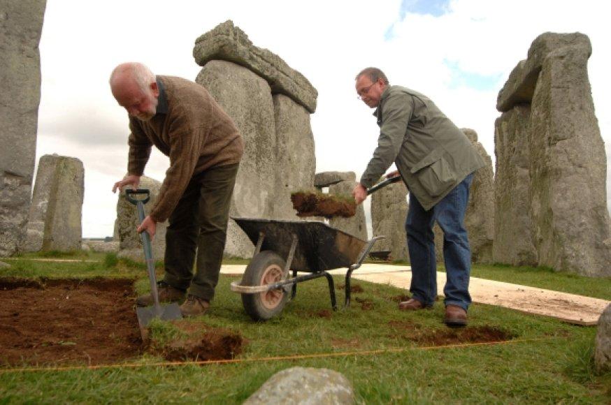 Archeologiniai kasinėjimai Stounhendžo teritorijoje