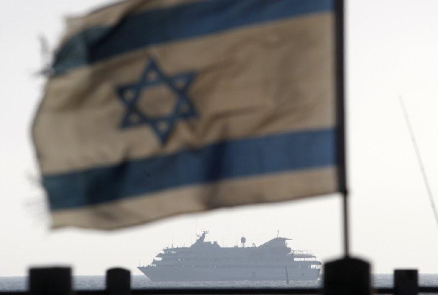 """Izraelis nusprendė grąžinti Turkijai keltą """"Mavi Marmara""""."""