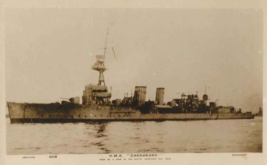 "Lengvasis kreiseris ""HMS Cassandra"""