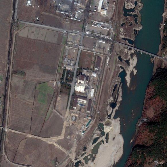 Jongbjono branduolinis centras iš palydovo