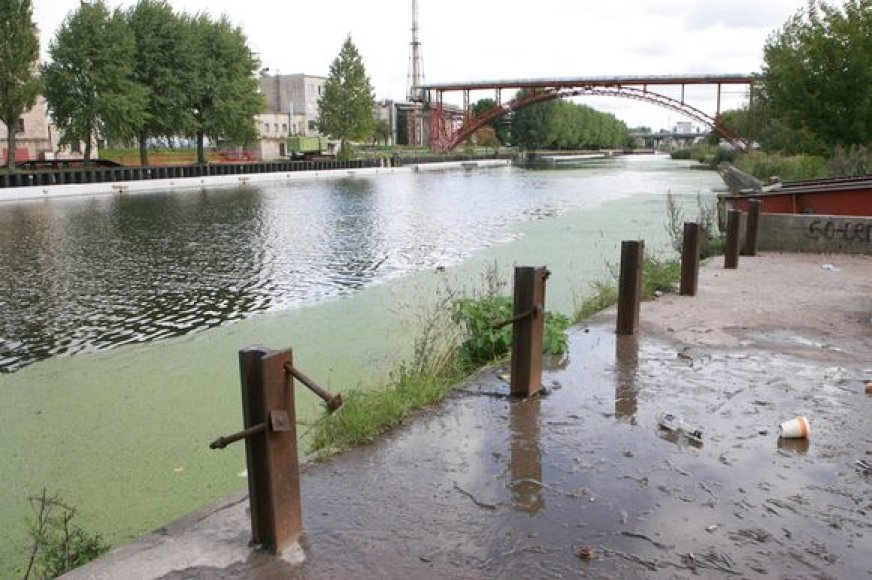 Danės upės krantinė ilgainiui pasikeis neatpažįstamai.