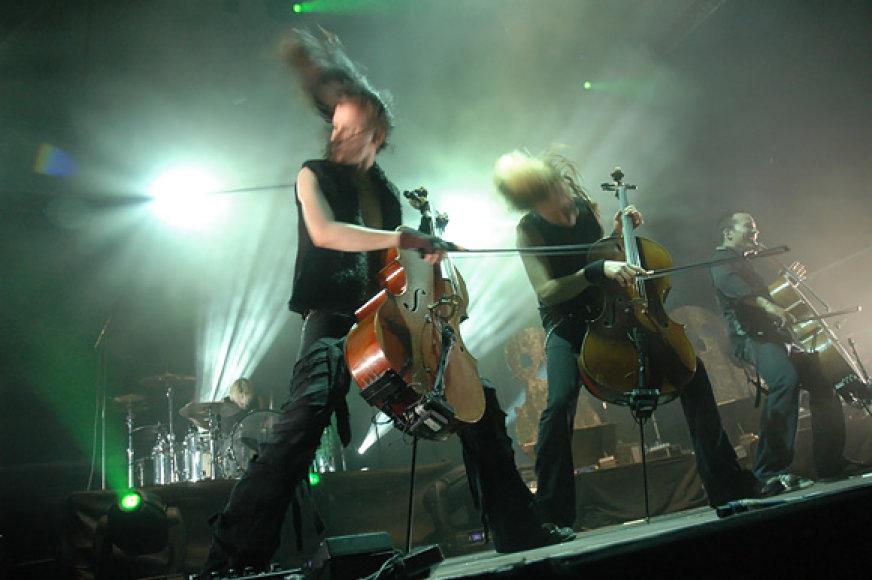 "Grupės ""Apocalyptica"" koncertas"