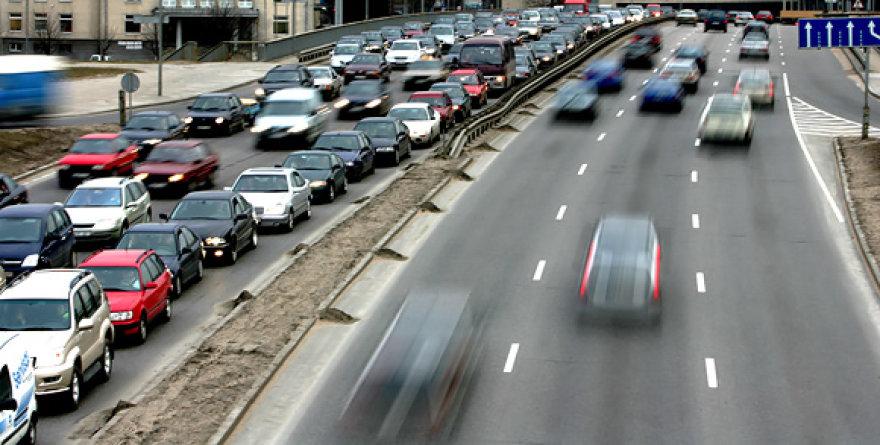 Vilniaus transporto srautai