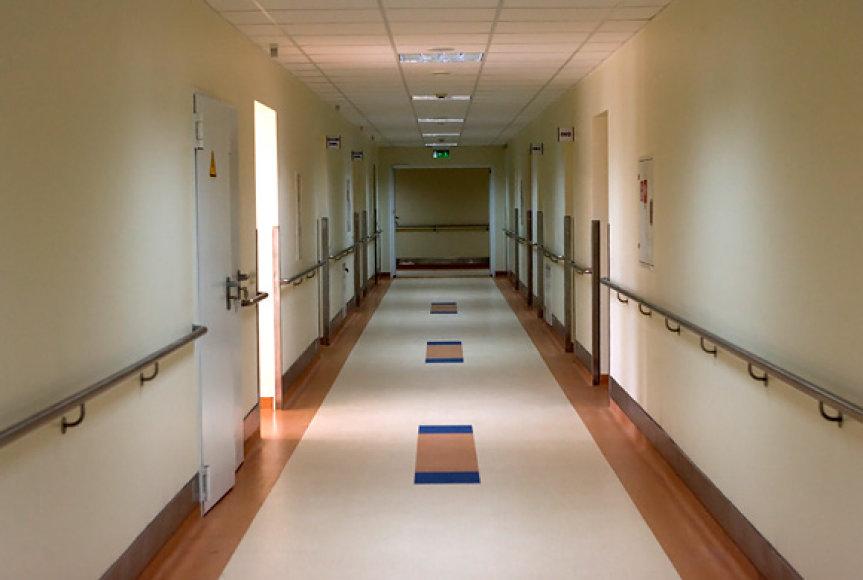 Kauno klinikų koridorius