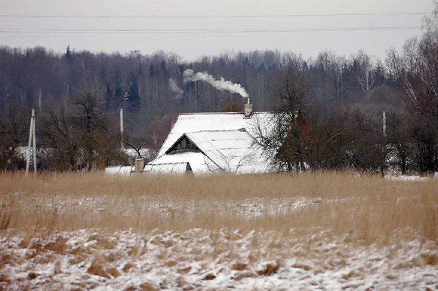Žiema kaime