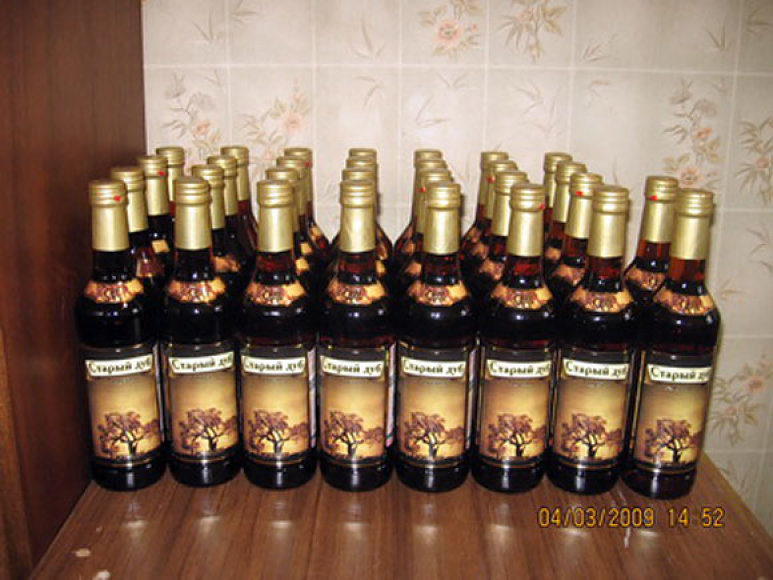 Falsifikuotas alkoholis