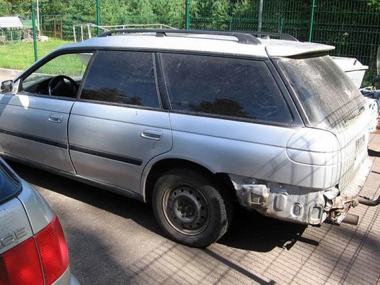 Pažeidėjų automobilis