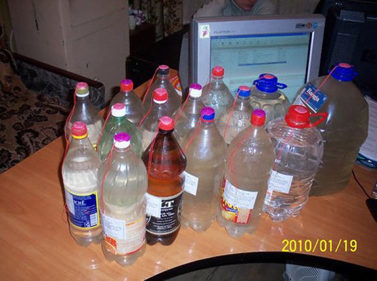 Pas Jonavos gyventoją rastas alkoholis