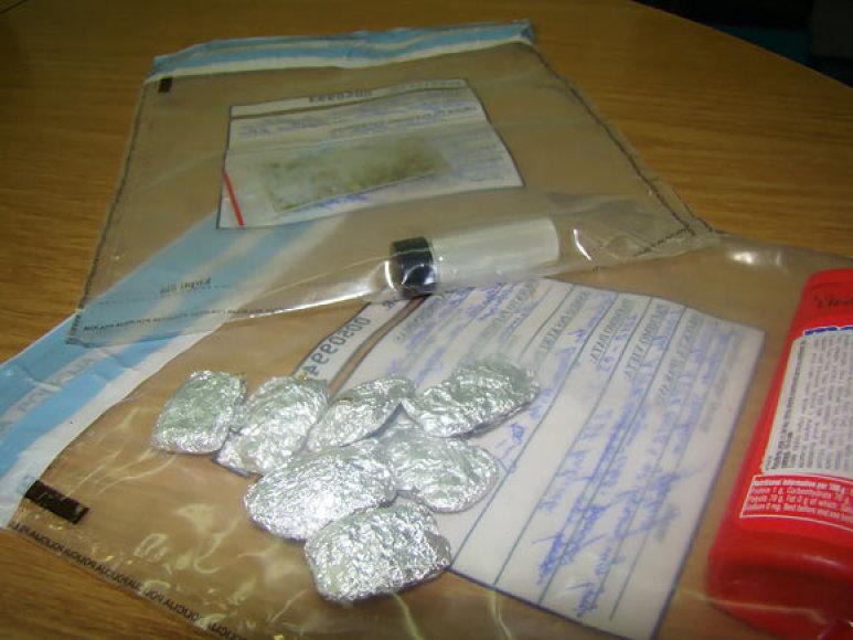 Pas Šiaulių moksleivį rasti narkotikai