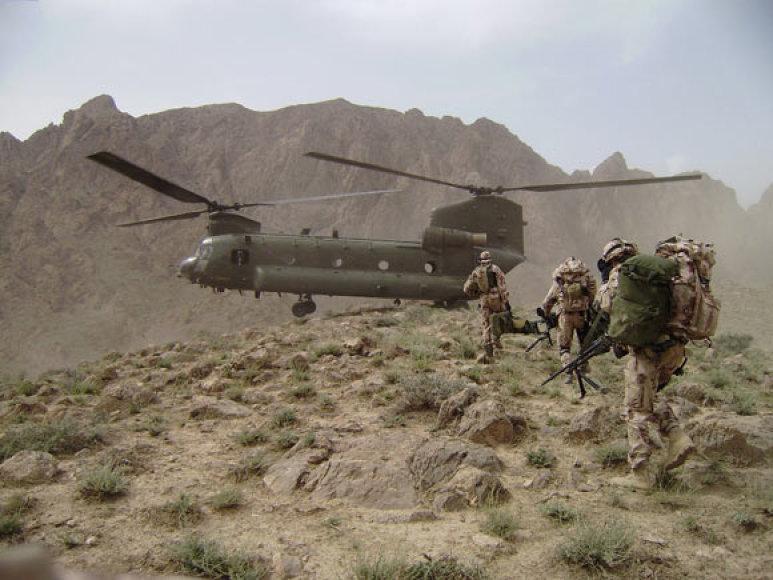SOP Afganistane
