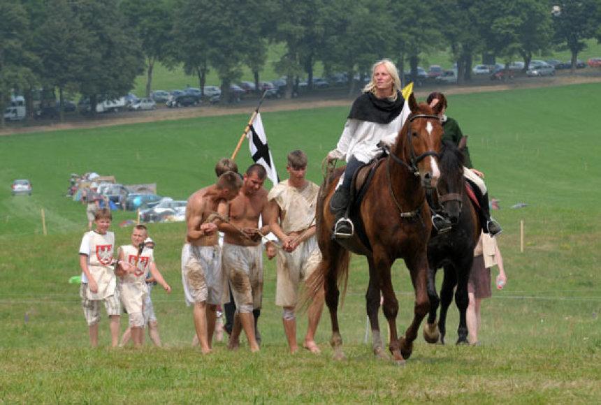 Žalgirio mūšio 600 metų minėjimo renginiuose Griunvalde