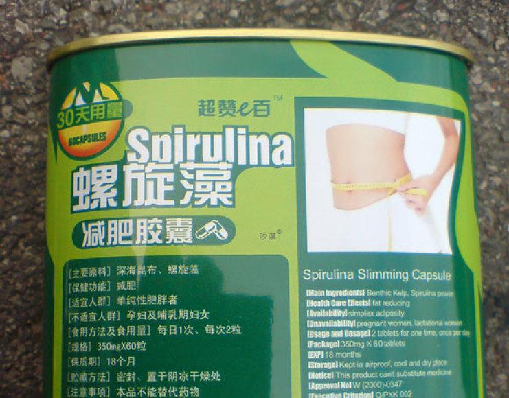 Sulaikyti kiniški preparatai