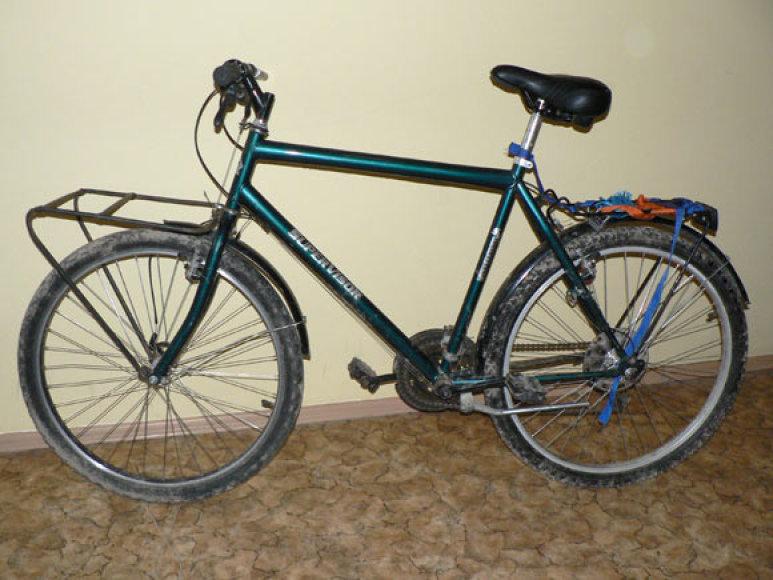 Sulaikytas panevėžiečio dviratis