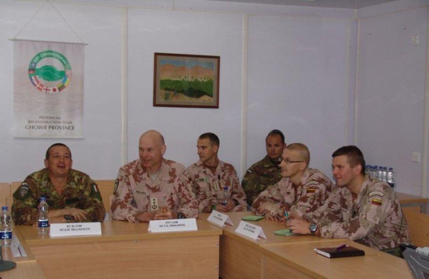 Susitikimas Provincijos atkūrimo grupėje