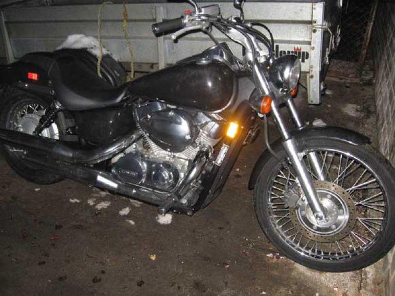 Rusas gabeno šį motociklą