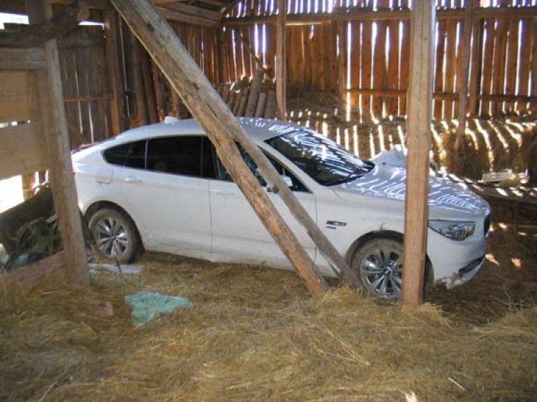 "Paslėptas ""BMW 530D xDrive Gran Turismo"""