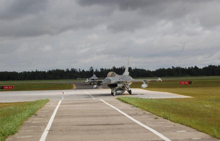 Danijos karališkųjų karinių oro pajėgų naikintuvas F-16