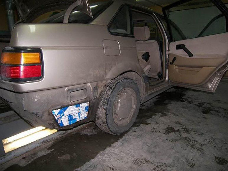 Slėptuvė automobilyje