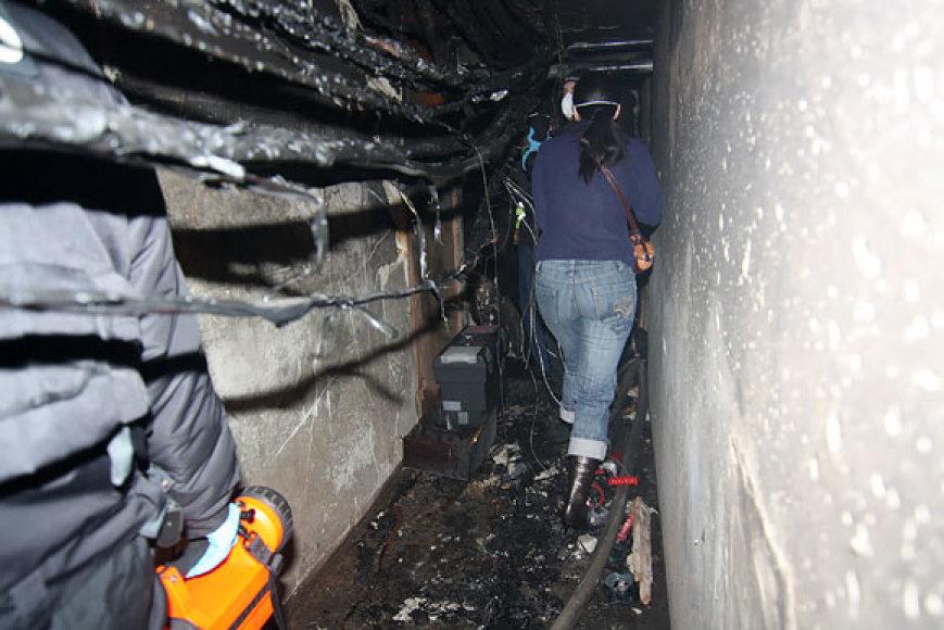 Rūsyje po sprogimo ir gaisro