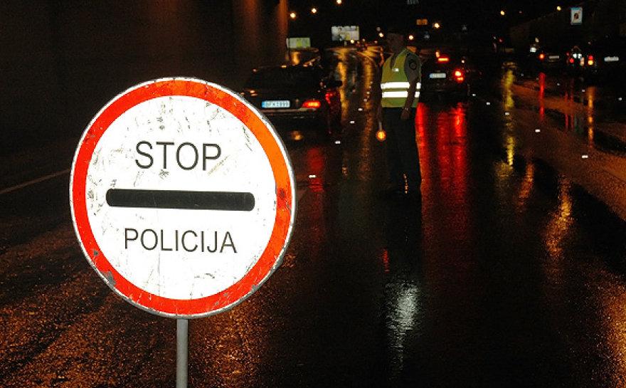 Stop - policija