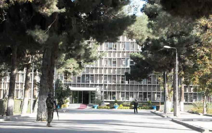 Afganistano gynybos ministerija Kabule (archyvas)