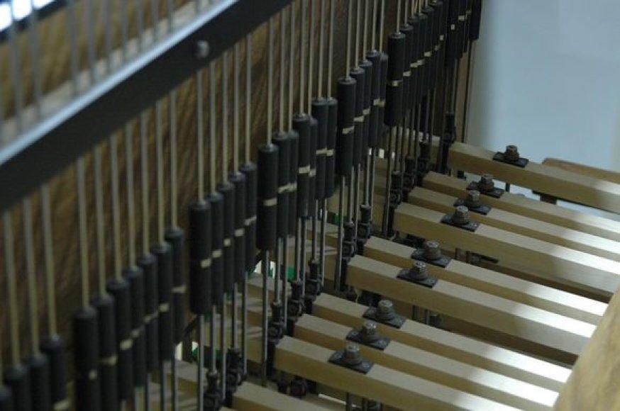 Kariliono klaviatūra