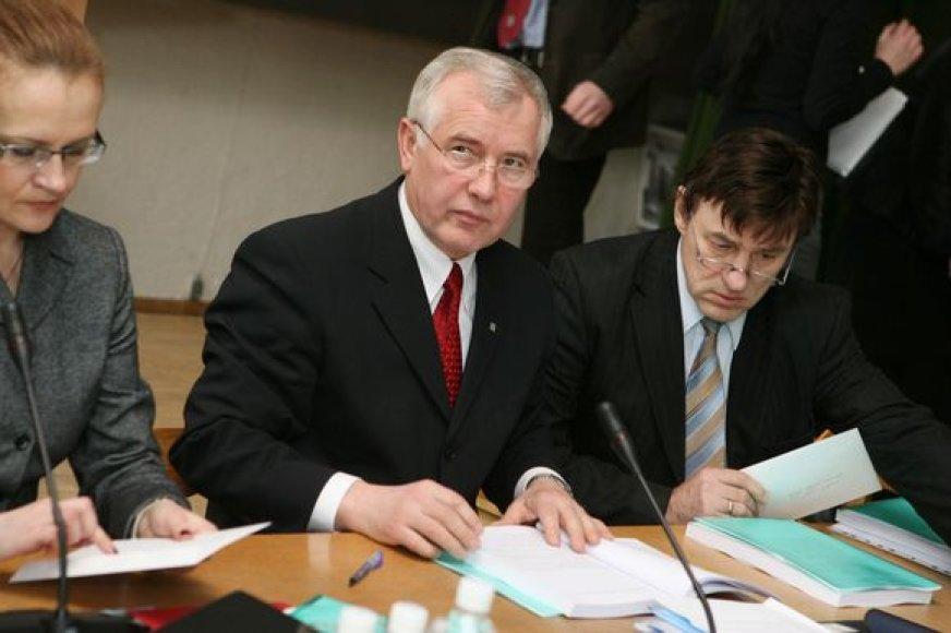 Senato posėdyje 2009 metų universiteto biudžetą pristatęs VDU rektorius neslėpė, kad teks taupyti.