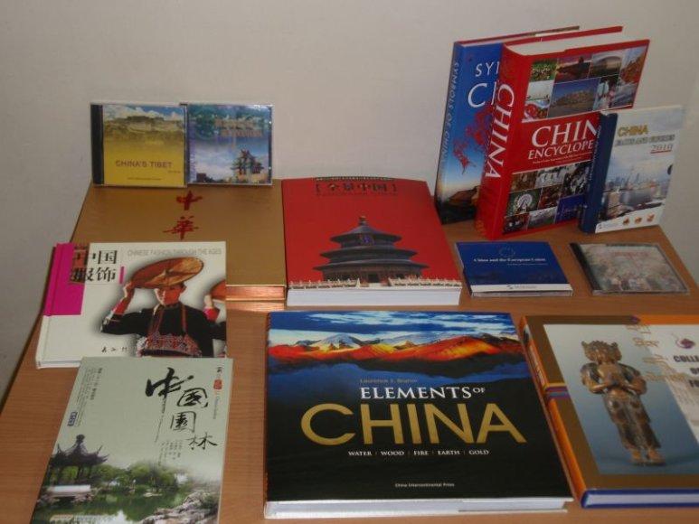 VDU gaus unikalią dovaną iš Kinijos.