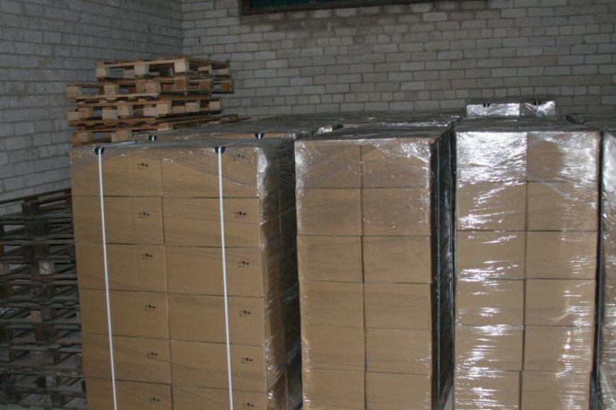 FNTT užkirto milijoninės vertės kontrabandinių cigarečių gabenimą į kitą Europos Sąjungos valstybę.