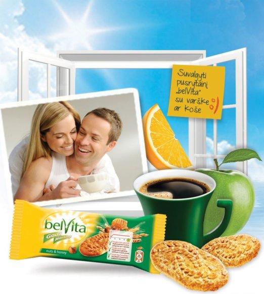"Maloniam rytui – ""Belvita""."