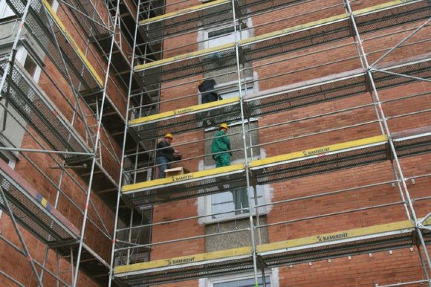 Šiuo metu Klaipėdoje atnaujinta keturiolika daugiabučių, dar keli milijoniniai projektai įgyvendinami.
