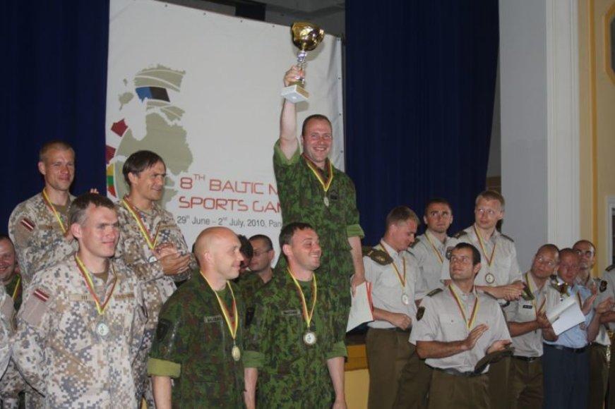 Baigėsi aštuntosios Baltijos šalių kariškių sporto žaidynės.