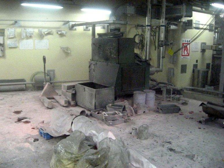 Patalpa, kurioje sumontuota sustabdyto reaktoriaus aušinimo sistema.