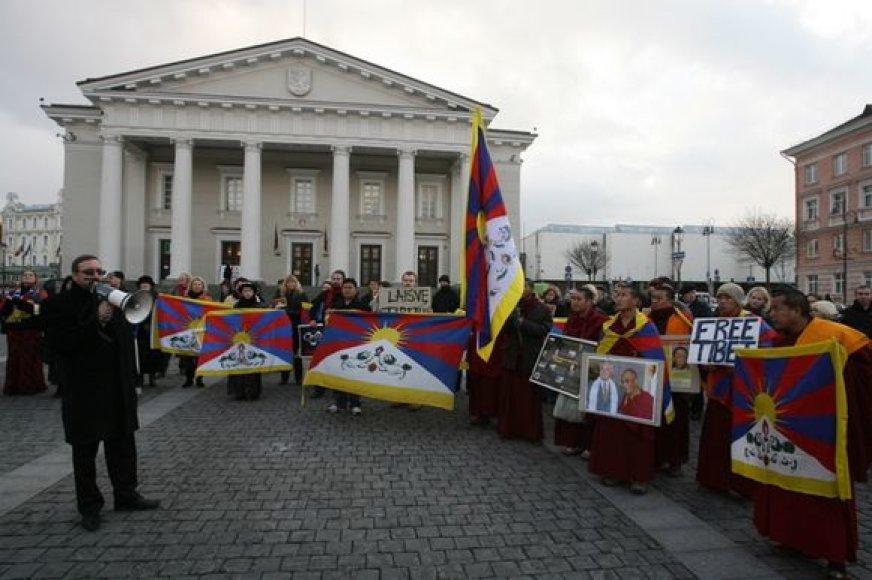 Tibeto aktyvistų būrys