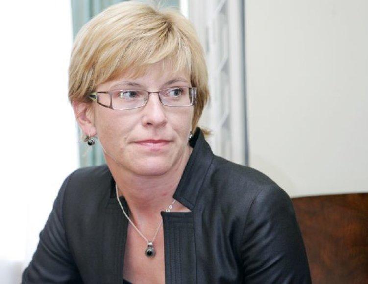 Finansų ministrė Ingrida Šimonytė.