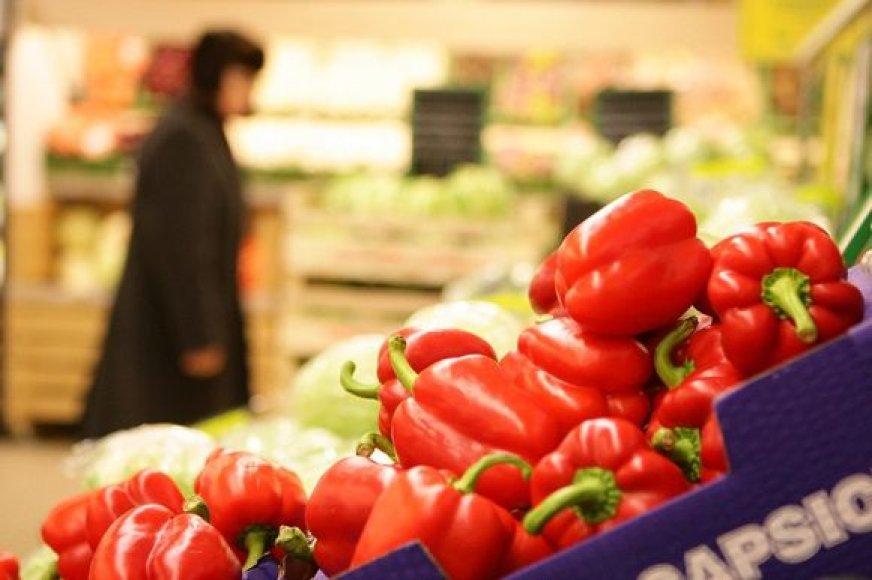 Nuo vasario 1 dienos IKI mažina vaisių ir daržovių kainas.
