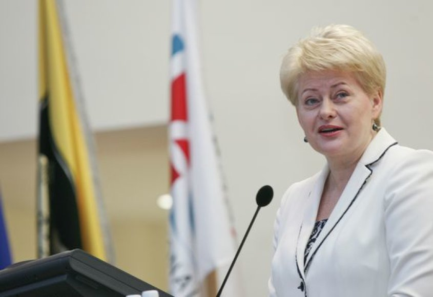 Dalia Grybauskaitė Pasaulio universitetų asociacijos kongreso atidaryme