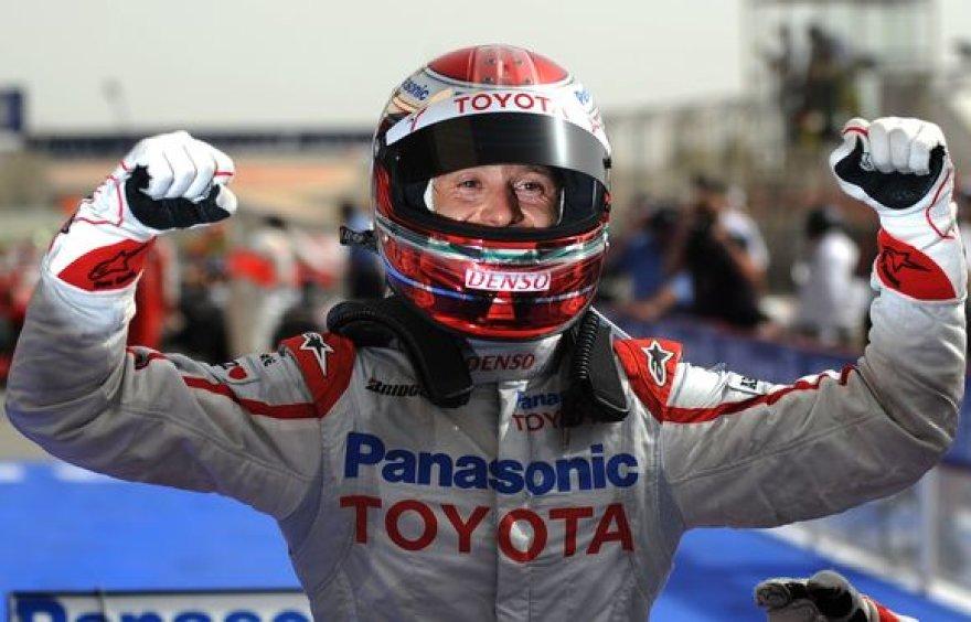 Šeštadienį vykusioje kvalifikacijoje greičiausiai važiavo 34-erių metų italas Jarno Trullis.
