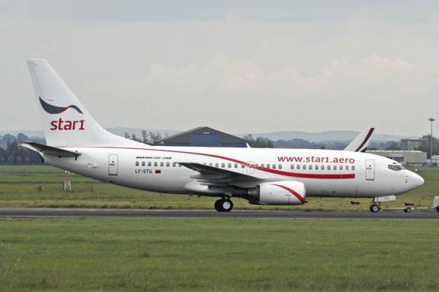 """Skrydžiai bus vykdomi su naujos kartos orlaiviu """"Boeing 737- 700 Next-Generation""""."""