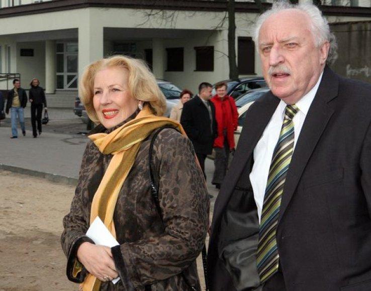 Dalia Teišerskytė ir  Anatolijus Čupkovas