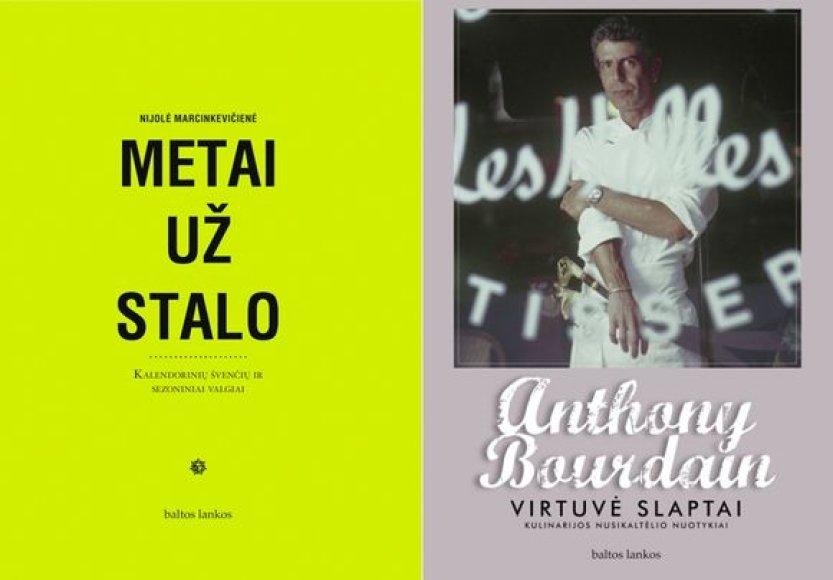"""Praėjusiais metais pagausėjusį kulinarinių knygų būrį papildė ir keli """"Baltų lankų"""" leidiniai."""