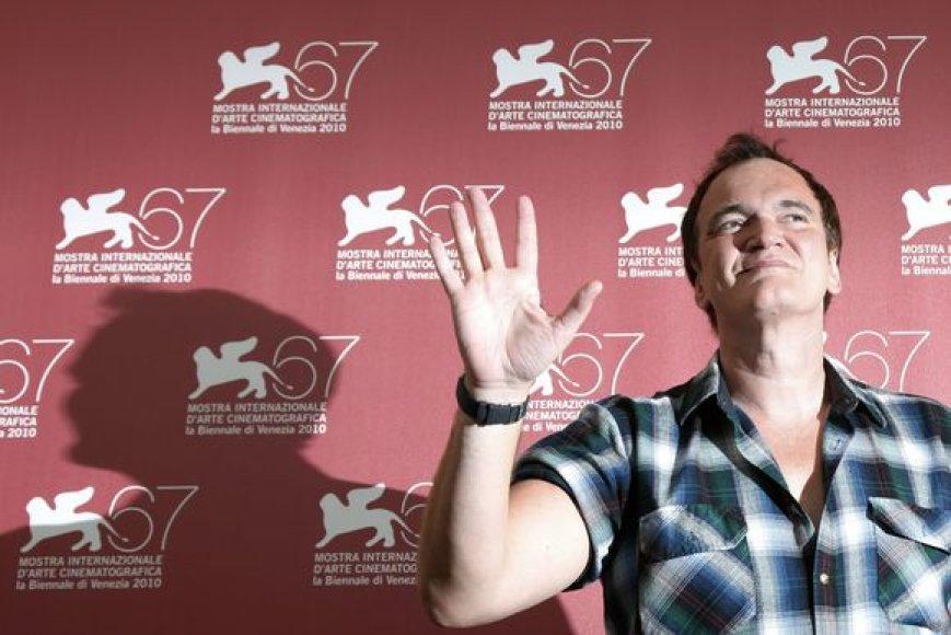 Quentinas Tarantino festivalio atidaryme